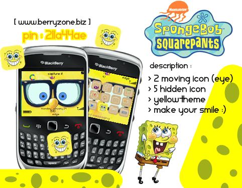 spongebob free themes for blackberry