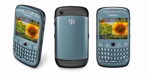 BlackBerry Curve 9220 di Indonesia pada Selasa (24/4/2012